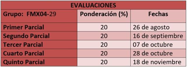 Evaluaciones fmx04-29